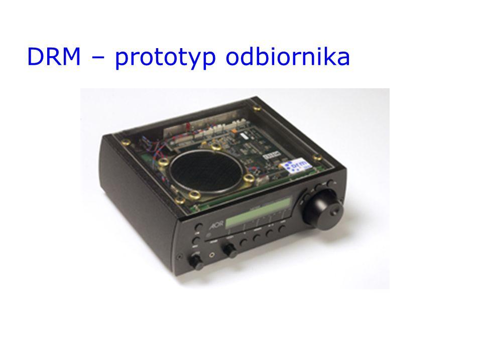 DRM – prototyp odbiornika