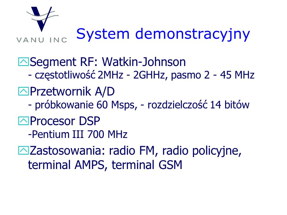 System demonstracyjny