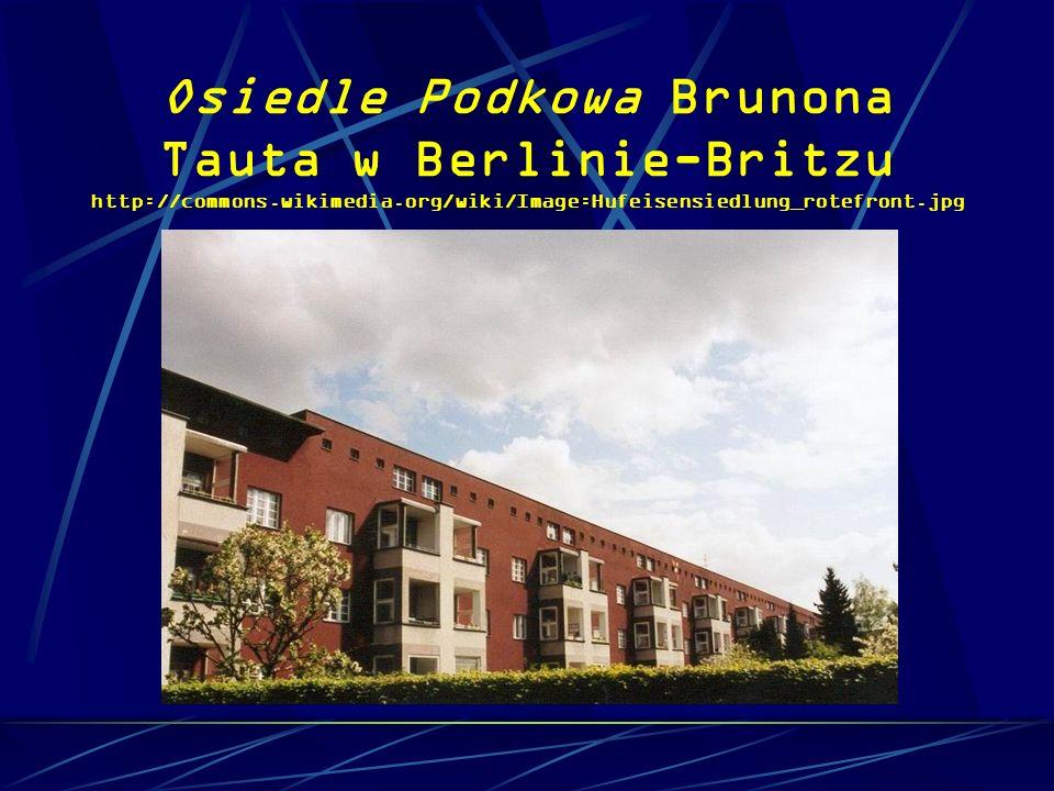 Osiedle Podkowa Brunona Tauta w Berlinie-Britzu http://commons
