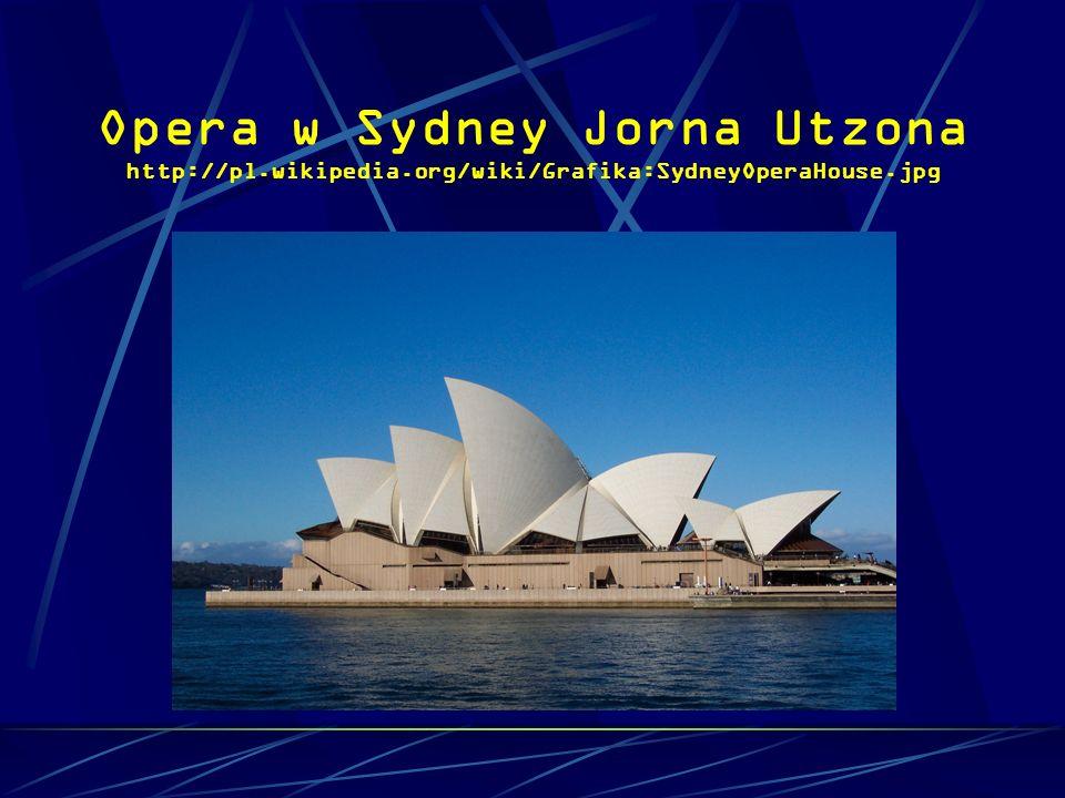 Opera w Sydney Jorna Utzona http://pl. wikipedia
