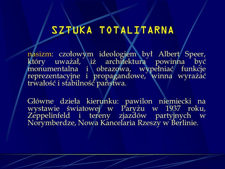 SZTUKA TOTALITARNA