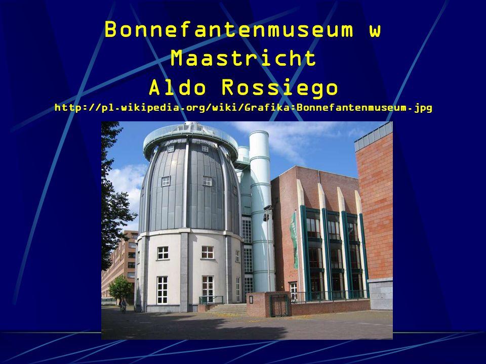 Bonnefantenmuseum w Maastricht Aldo Rossiego http://pl. wikipedia