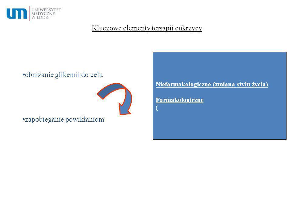 Kluczowe elementy tersapii cukrzycy