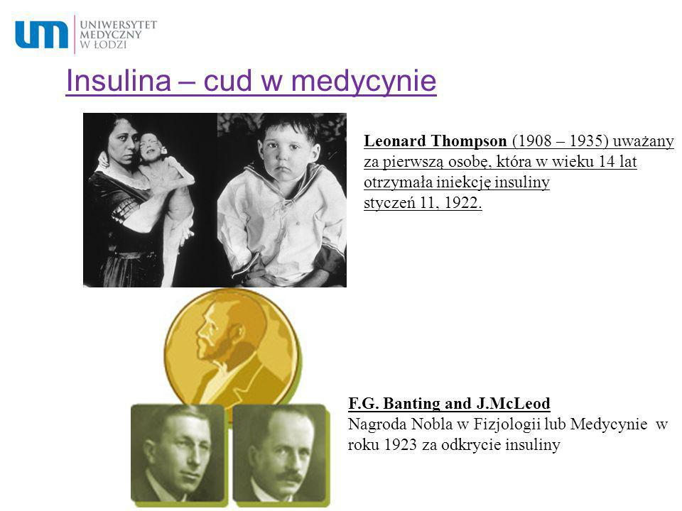 Insulina – cud w medycynie