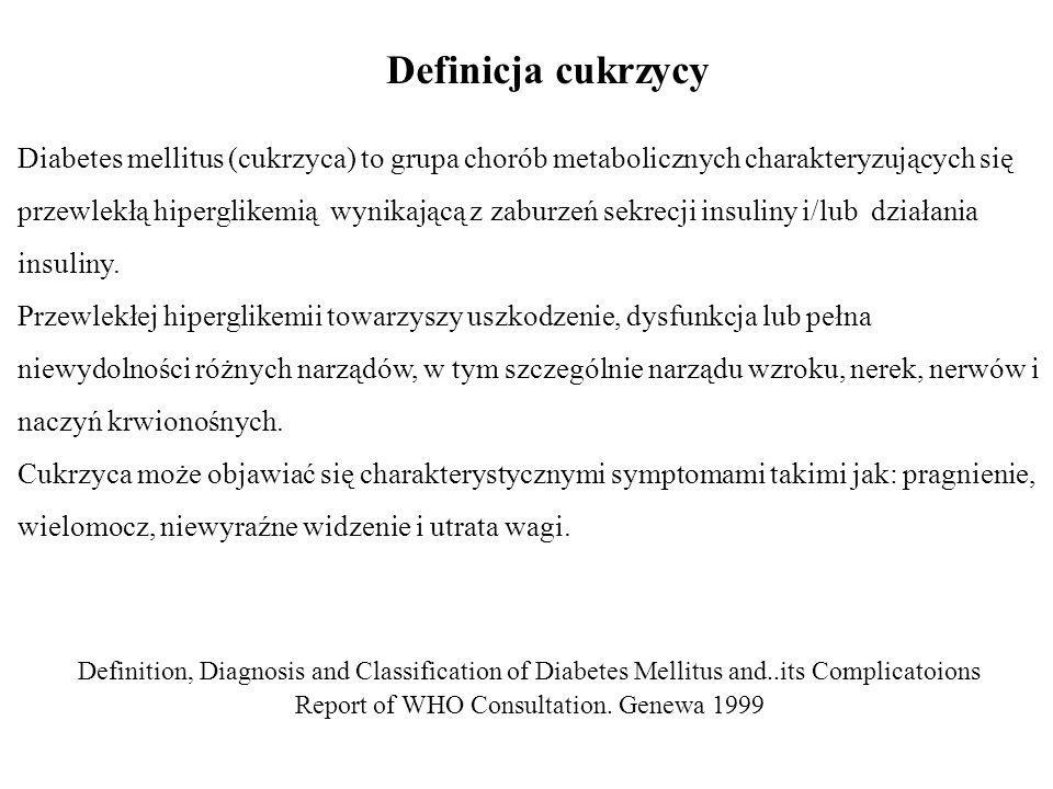 Report of WHO Consultation. Genewa 1999