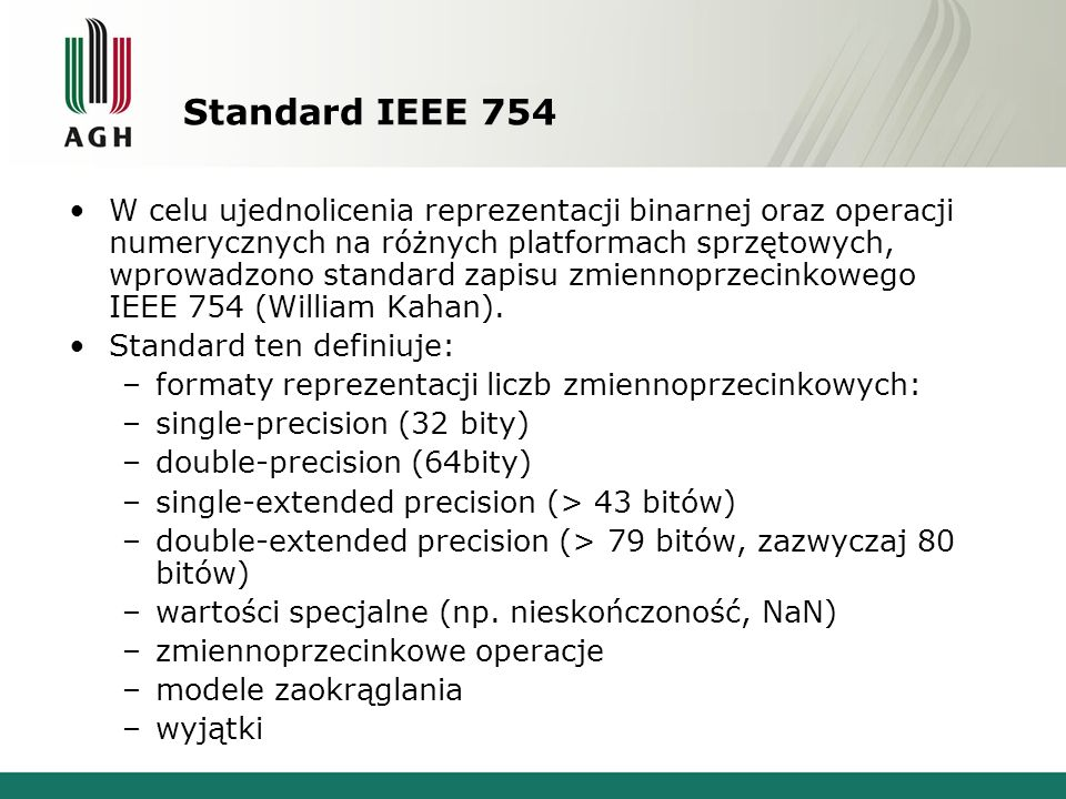 Standard IEEE 754