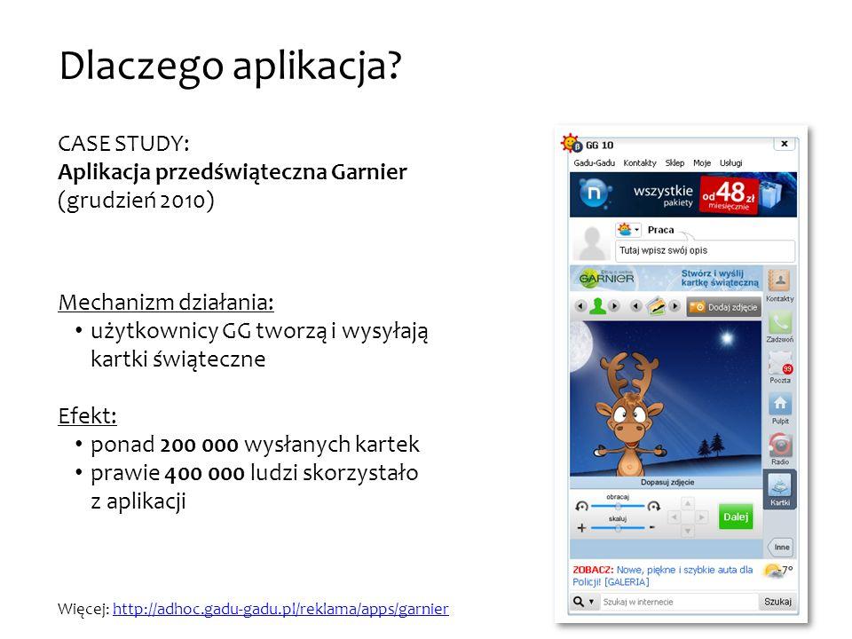 CASE STUDY: Aplikacja przedświąteczna Garnier (grudzień 2010)