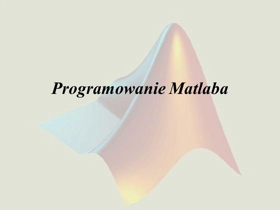 Programowanie Matlaba