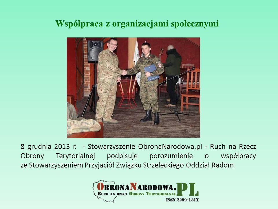 Współpraca z organizacjami społecznymi