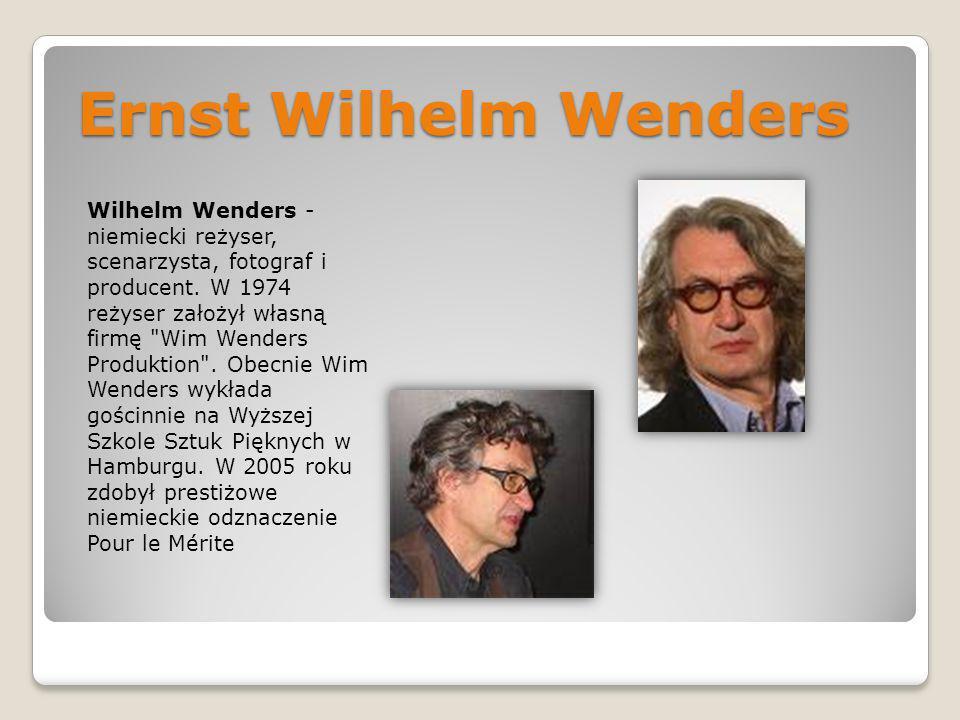 Ernst Wilhelm Wenders