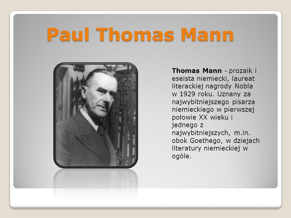 Paul Thomas Mann