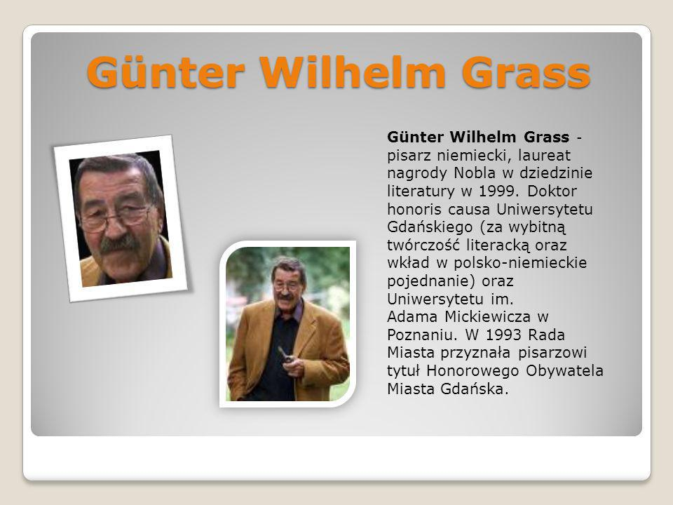 Günter Wilhelm Grass