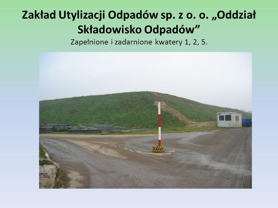 Zakład Utylizacji Odpadów sp. z o. o