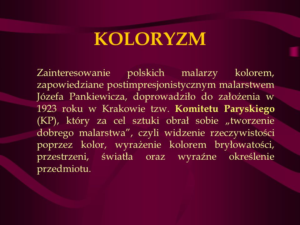 KOLORYZM