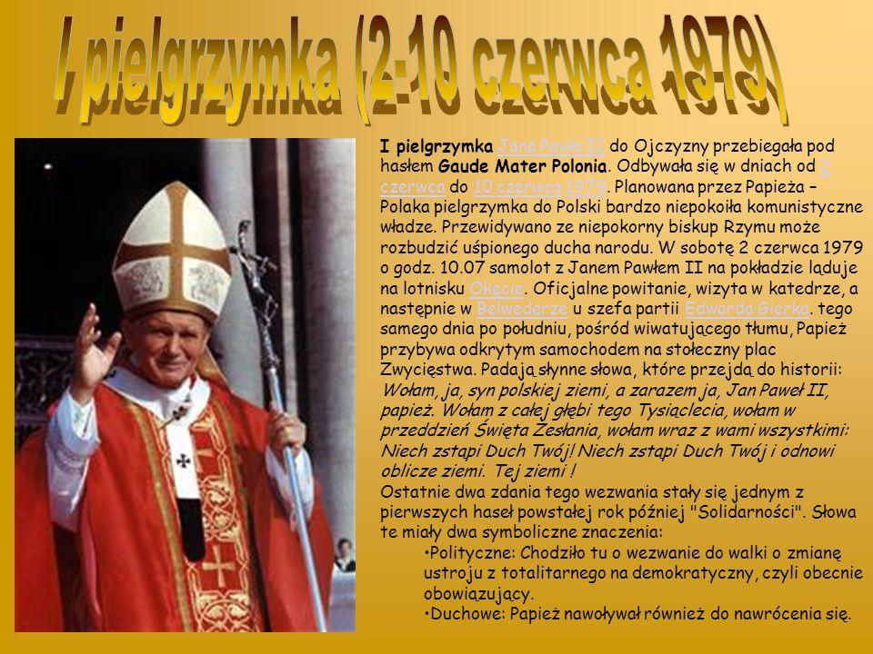 I pielgrzymka (2-10 czerwca 1979)