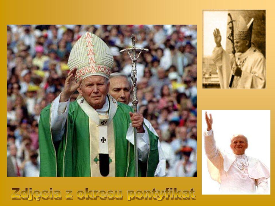 Zdjęcia z okresu pontyfikat
