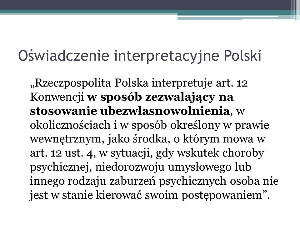 Oświadczenie interpretacyjne Polski