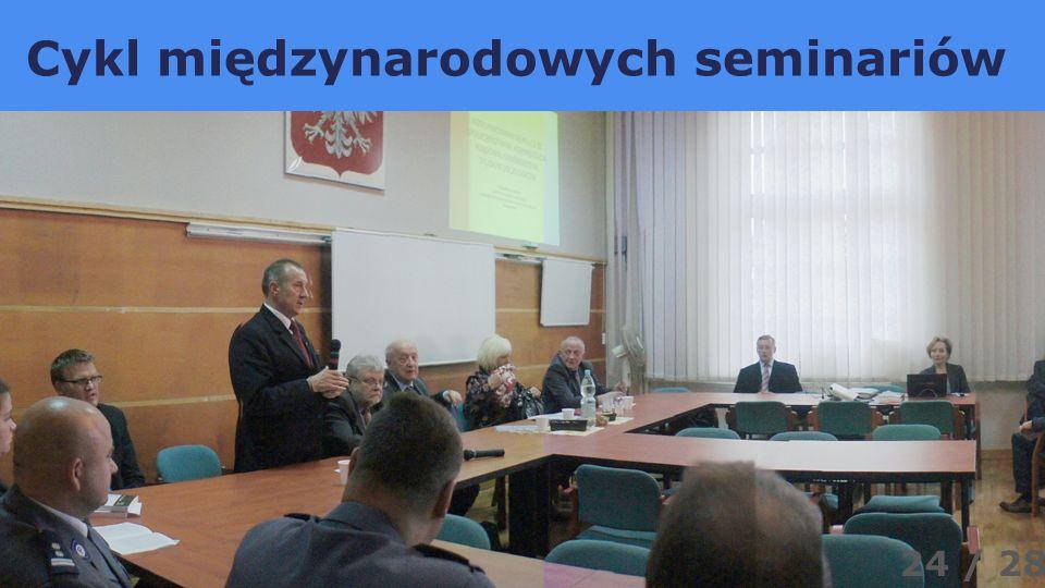 Cykl międzynarodowych seminariów