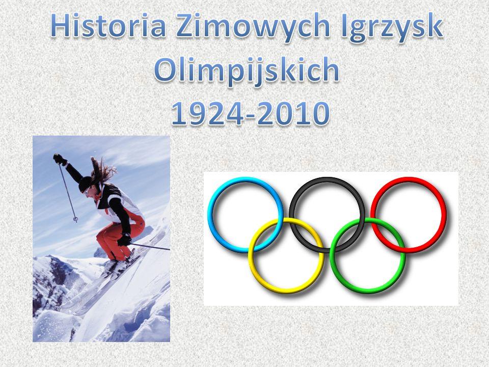 Historia Zimowych Igrzysk