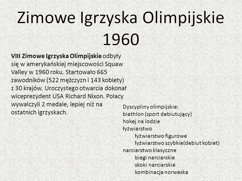 Zimowe Igrzyska Olimpijskie 1960