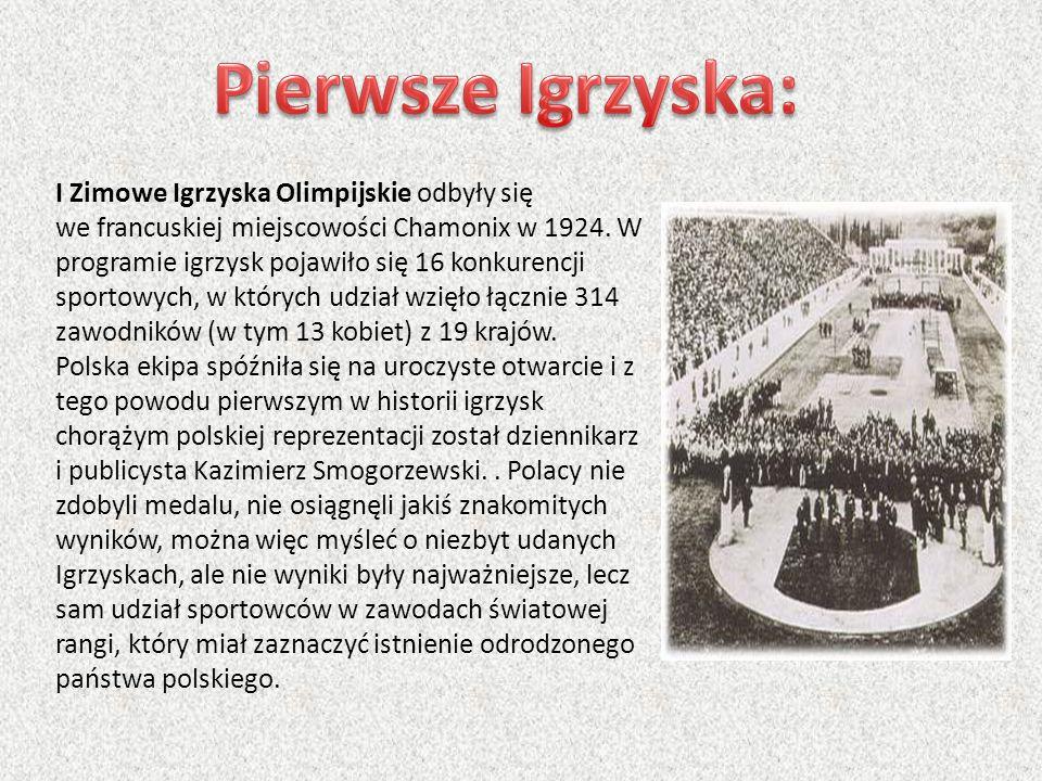 Pierwsze Igrzyska:
