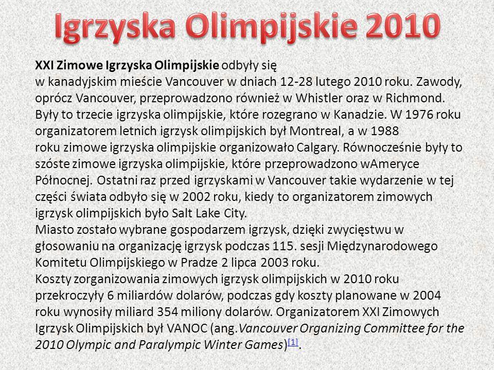 Igrzyska Olimpijskie 2010
