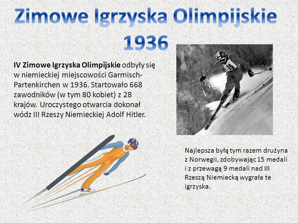 Zimowe Igrzyska Olimpijskie 1936