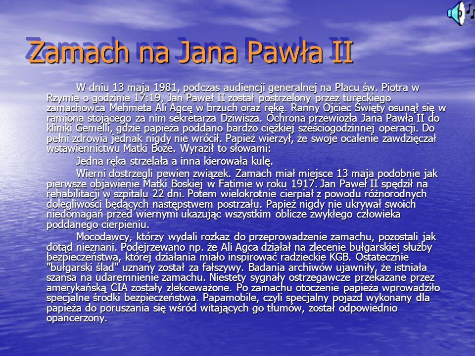 Zamach na Jana Pawła II