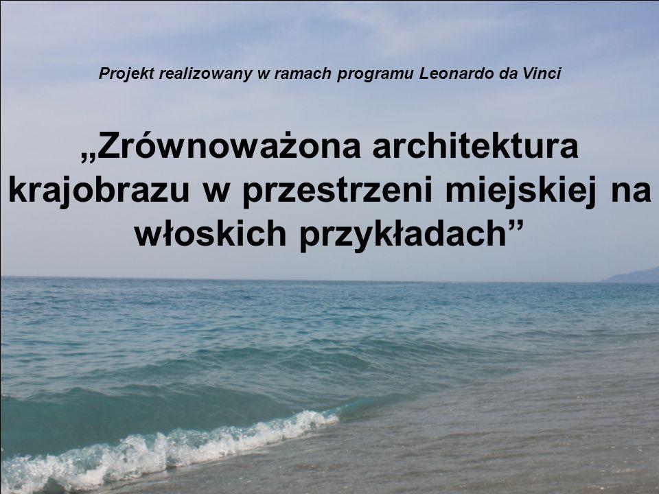 Projekt realizowany w ramach programu Leonardo da Vinci