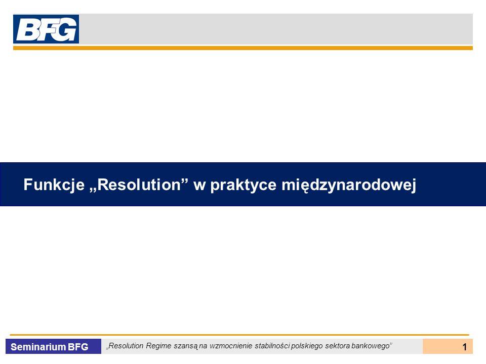 """Funkcje """"Resolution w praktyce międzynarodowej"""