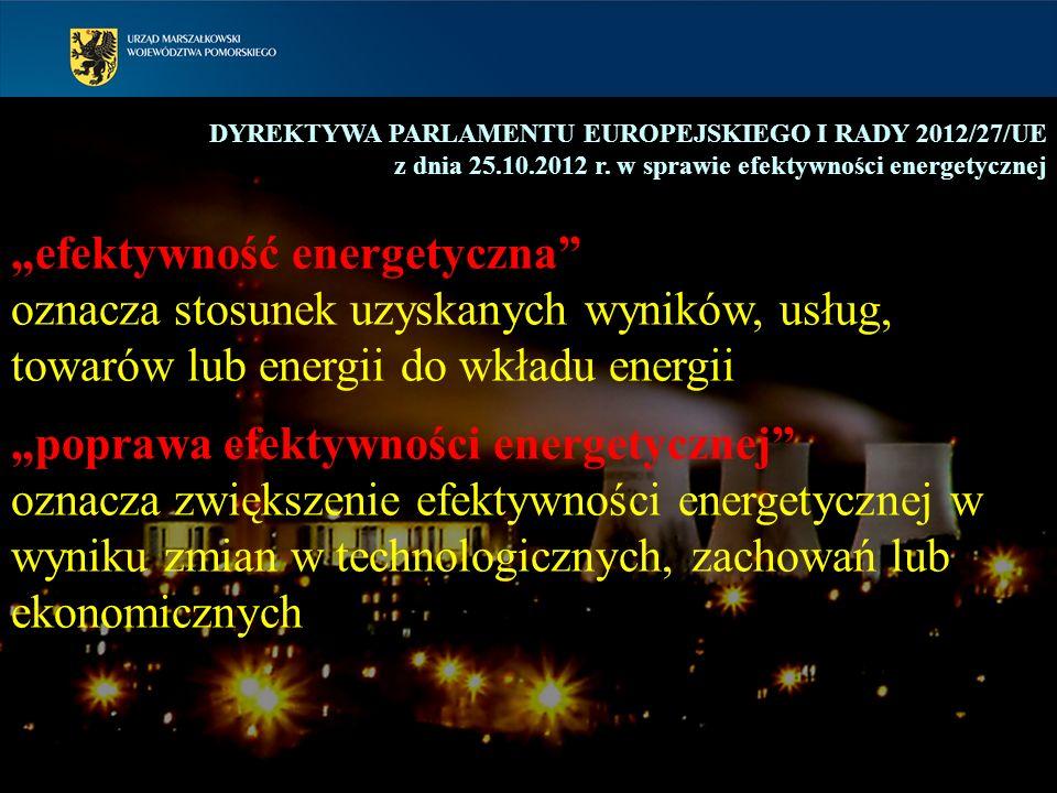 """""""efektywność energetyczna"""