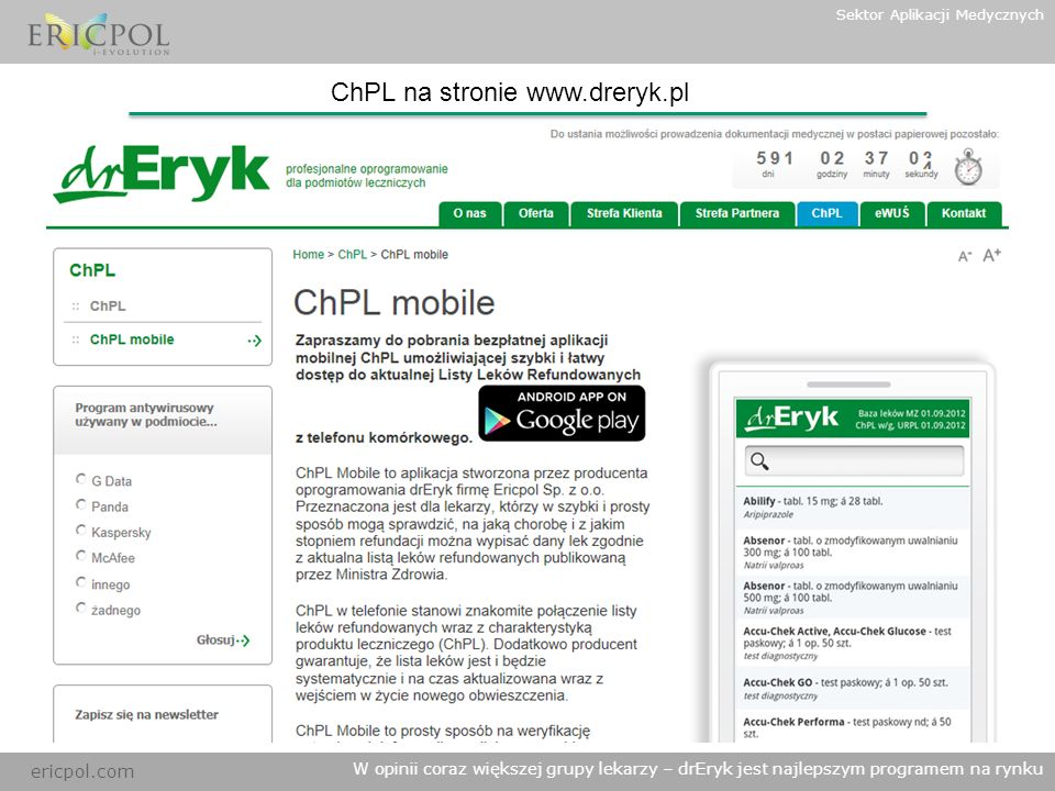 ChPL na stronie www.dreryk.pl