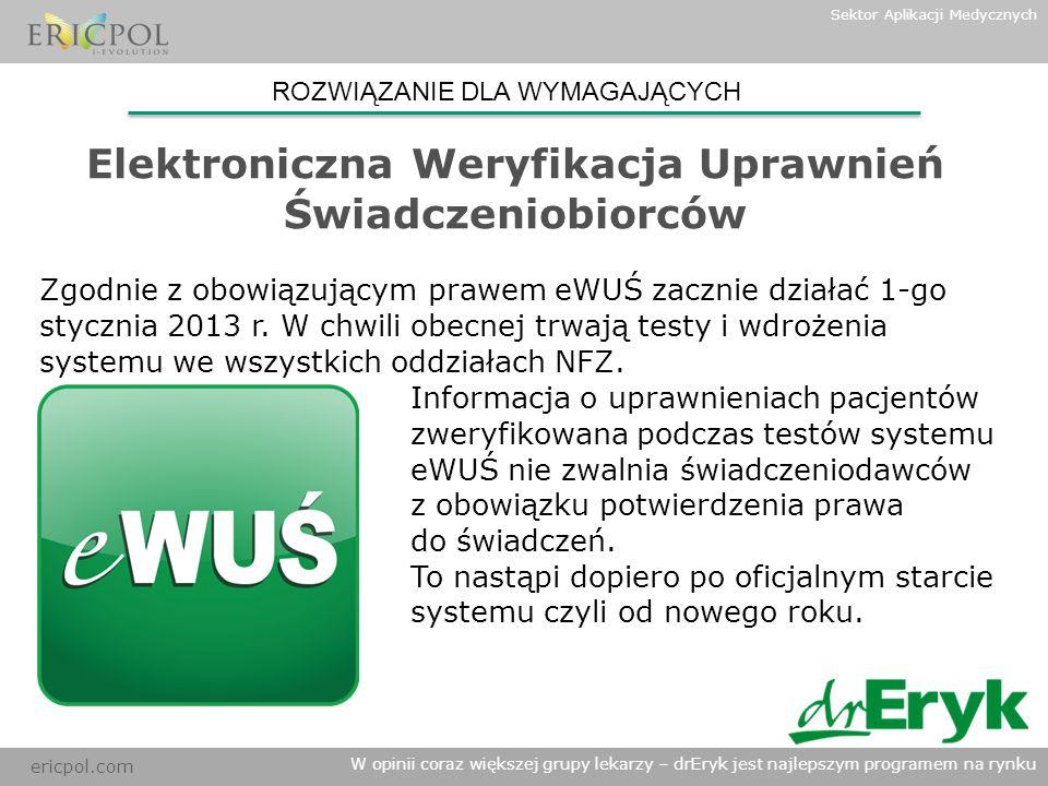 Elektroniczna Weryfikacja Uprawnień Świadczeniobiorców