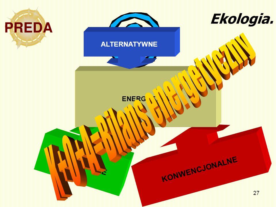K+O+A=Bilans energetyczny