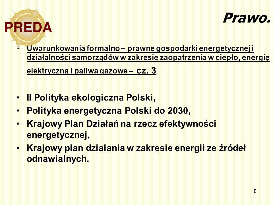 Prawo. II Polityka ekologiczna Polski,