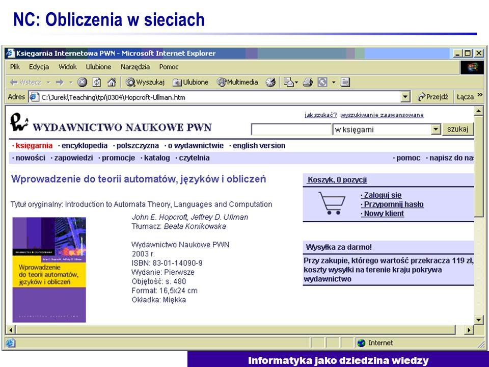 NC: Obliczenia w sieciach