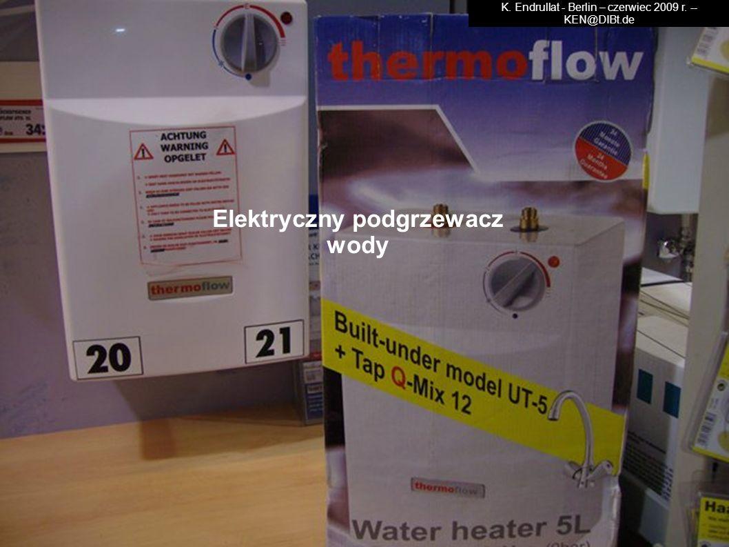 Elektryczny podgrzewacz wody
