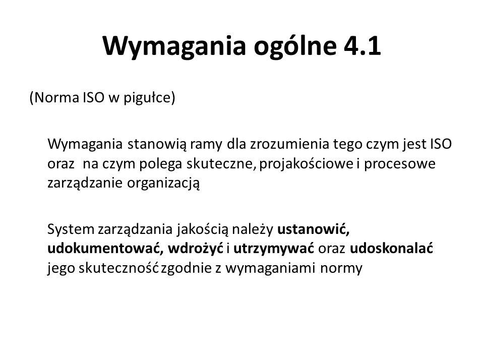Wymagania ogólne 4.1