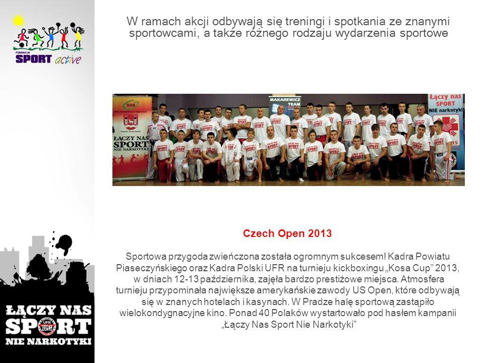 """""""Łączy Nas Sport Nie Narkotyki"""