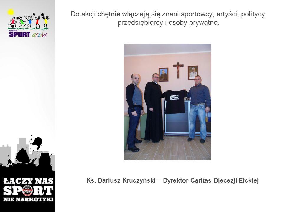 Ks. Dariusz Kruczyński – Dyrektor Caritas Diecezji Ełckiej