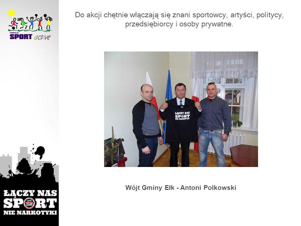 Wójt Gminy Ełk - Antoni Polkowski