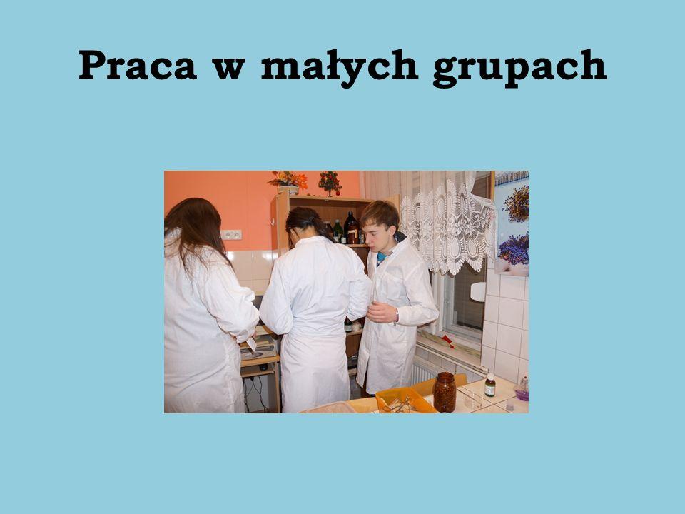 Praca w małych grupach