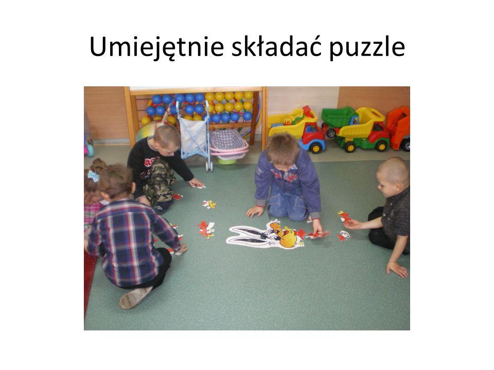 Umiejętnie składać puzzle