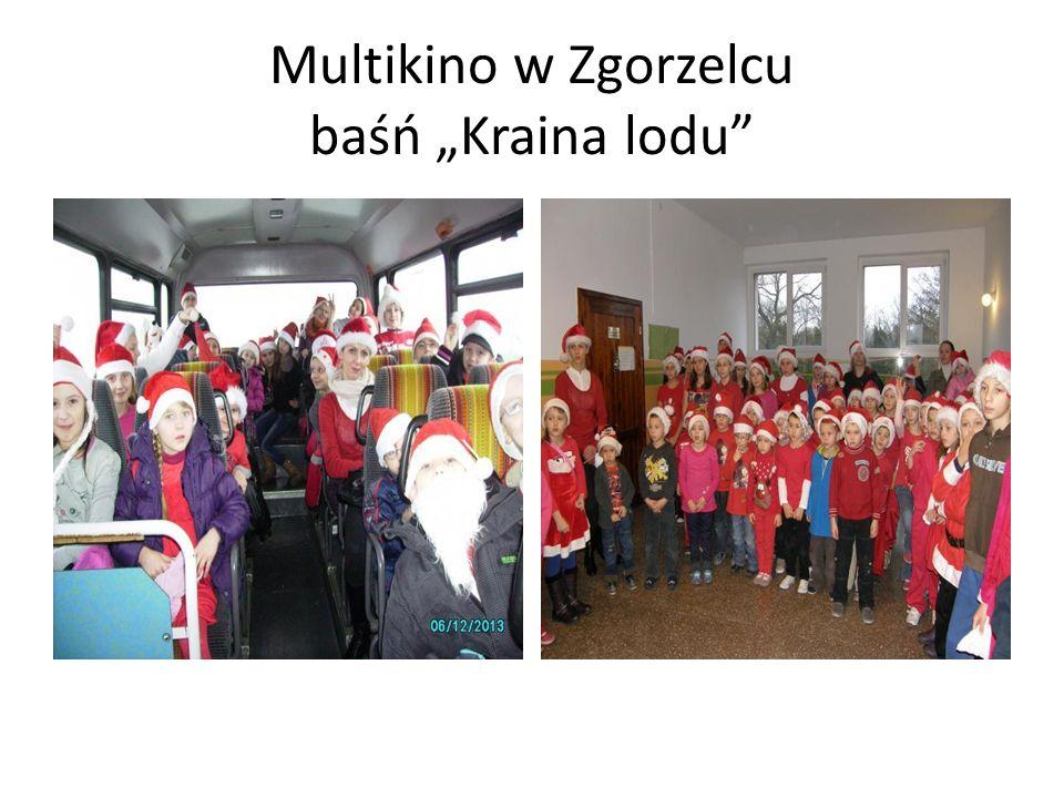"""Multikino w Zgorzelcu baśń """"Kraina lodu"""