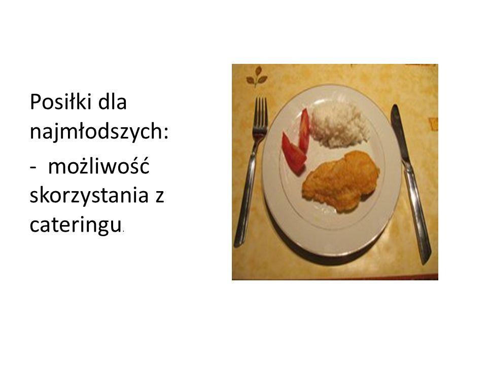 Posiłki dla najmłodszych: