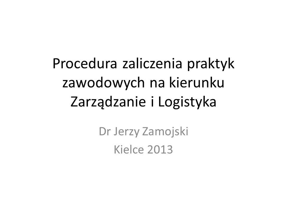 Dr Jerzy Zamojski Kielce 2013