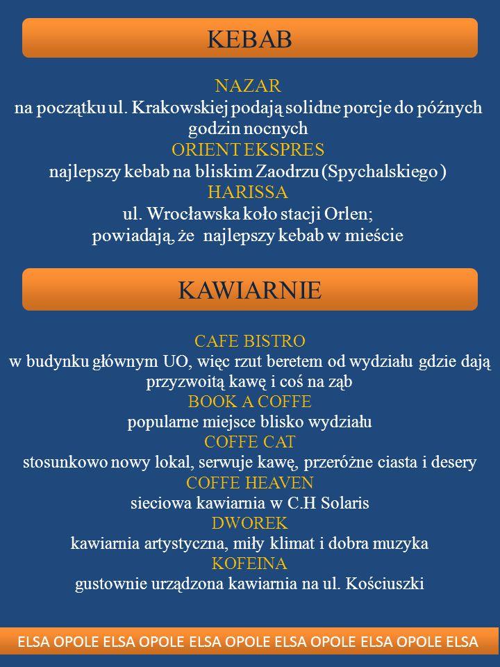 KEBAB NAZAR. na początku ul. Krakowskiej podają solidne porcje do późnych godzin nocnych. ORIENT EKSPRES.