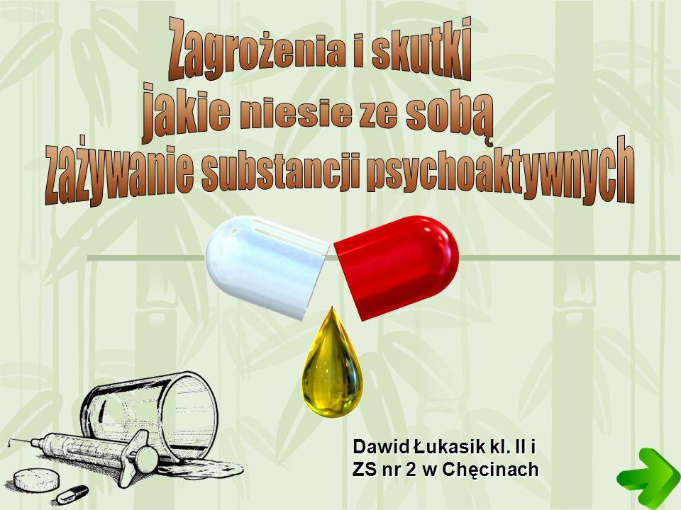 zażywanie substancji psychoaktywnych