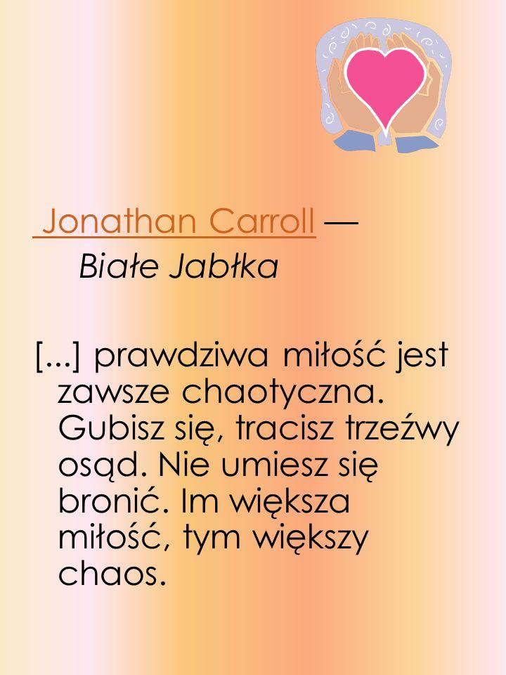 Jonathan Carroll — Białe Jabłka.