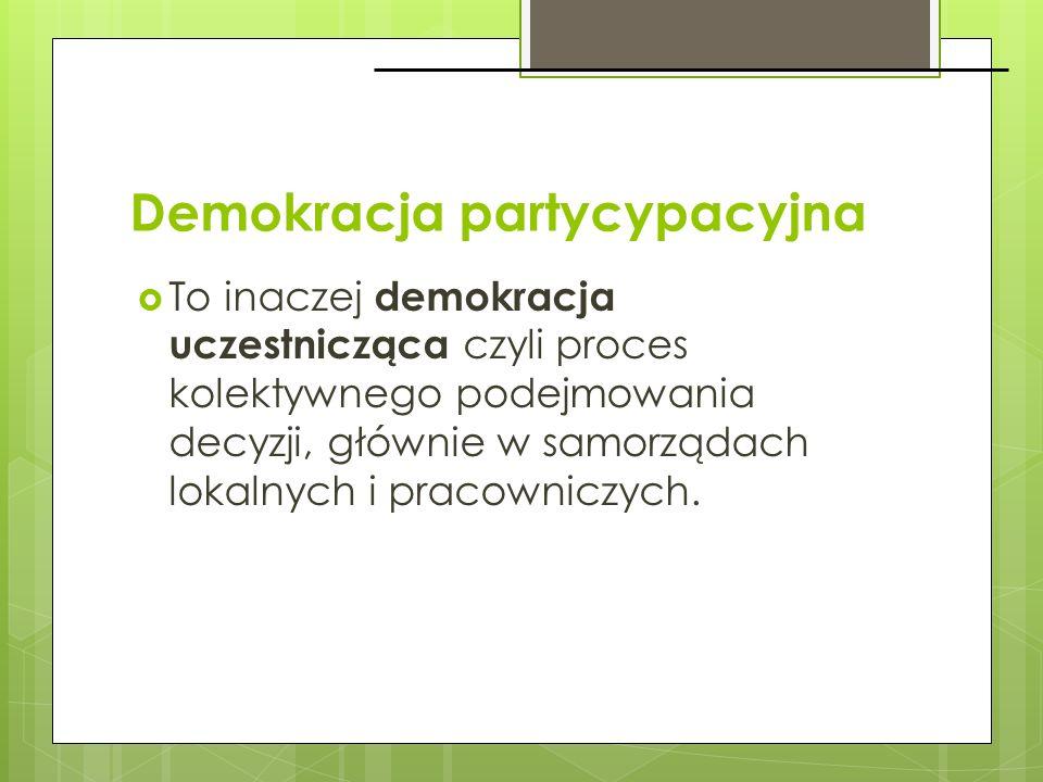 Demokracja partycypacyjna